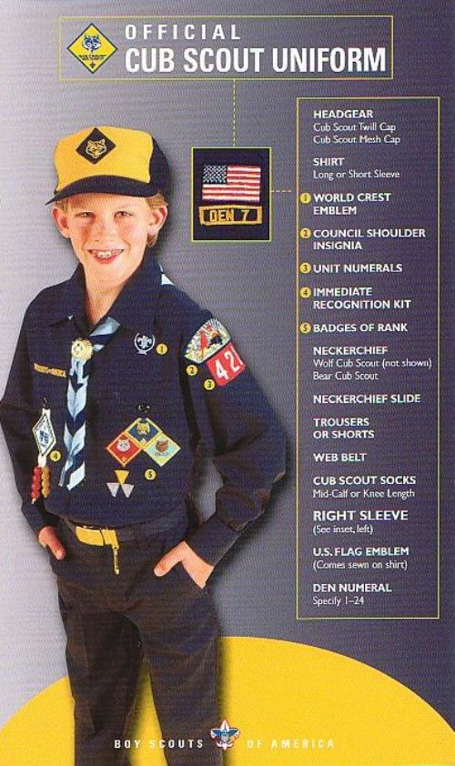 Public Uniforms - Cub Scout Pack 13 (Plainfield, Illinois)